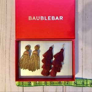 Bauble Bar NIB earrings